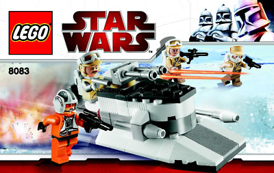 Lego Star Wars - Rebel Trooper Battle Pack - 8083