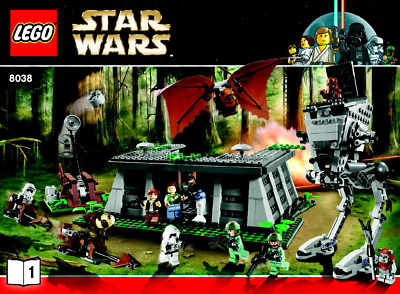 Lego Star Wars - The Battle of Endor - 8038 !! BESCHREIBUNG BEACHTEN !!