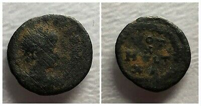 Late Roman Empire AE4 378-c. 410 AD VOT X MVLT XX Within Wreath