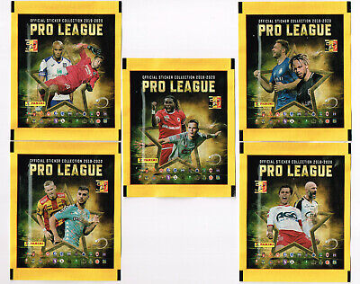 PANINI 5 different sealed packets | Belgian Pro League 2020 | Football Belgium