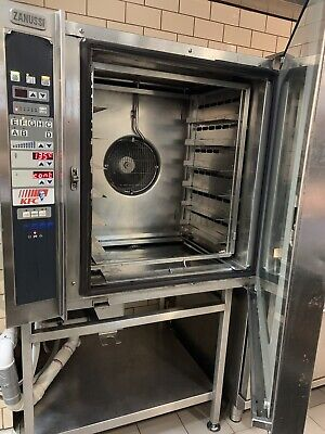 Commercial Combi Convection Oven Kitchen Steam Stainless Steel Zanussi