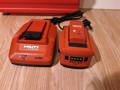 HILTI Battery Charger C 4/36-90 + 1x Battery 22v 5.2Ah