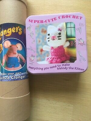 Clangers Knitting Make Your Own Crochet Melody Kitten Figure Toys Arts Crafts