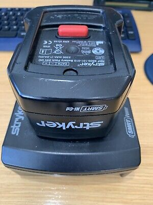 Stryker SMRT Power System Charger Base & Battery 6500-101-010