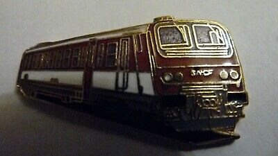 Pin's  Trains  Sncf  /  Locomotive  Z 7300  1980-84  /  Emaille  /  Superbe