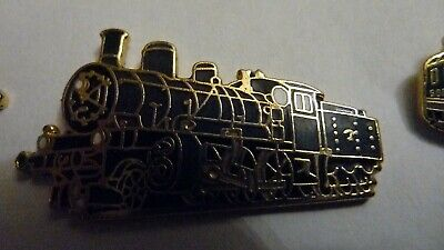 Pin's  Trains  Sncf  /  Locomotive  B374  1918 /  Emaille  /  Superbe