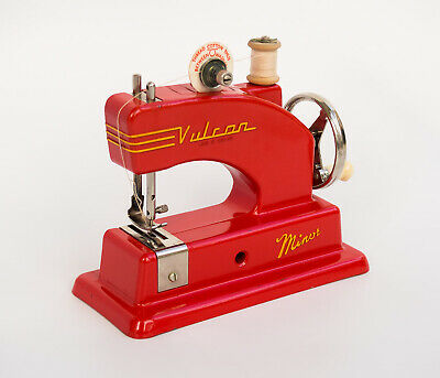 Vintage Vulcan Minor Child's Sewing Machine Boxed with Instructions