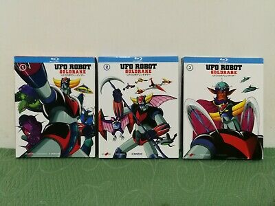 Goldrake Ufo Robot Blu-ray Serie Completa 3 Box Yamato Video