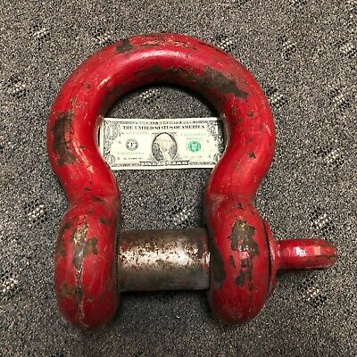 Crosby WLL 35T 35 Ton Anchor Shackle Clevis 2 Pin
