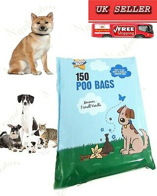 Good Boy Vanilla Scented Dog Poo Bags Pack of 150 pc