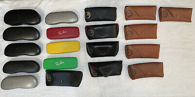 Lot 19 used Mixed Ray Ban Cases