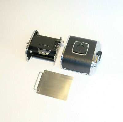 MINT Hasselblad A16 Film Back, Matching Inserts, Serviced, 100% Working