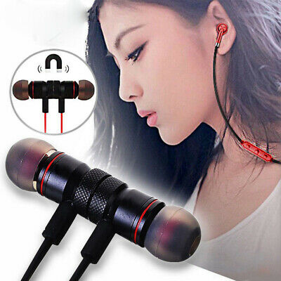 HOT Magnet Wireless Bluetooth In-Ear Sports Earphone Headset Headphone Earbuds