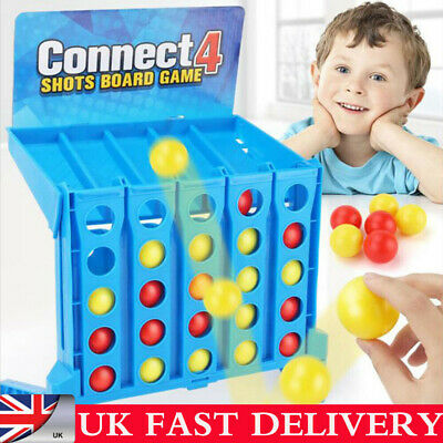 Connect 4 Shots Kids Childrens Games Family Funny Toy Ball Christmas Gifts UK