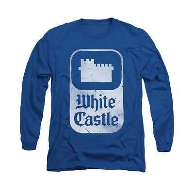 White Castle DISTRESSED LOGO Licensed Adult T-Shirt All Sizes