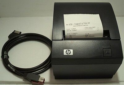HP A799-C40W-HN00 Point Of Sale POS Thermal Receipt Printer 490564-001