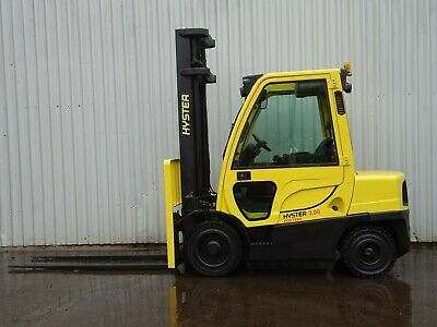 HYSTER H3.0FT. 4100mm LIFT. USED DIESEL FORKLIFT TRUCK.