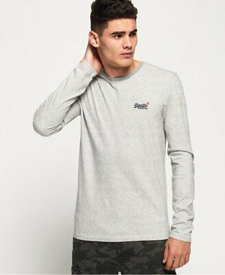 Superdry T-Shirts BNWT Superdry Orange Label Twill Textured Long Sleeve Top