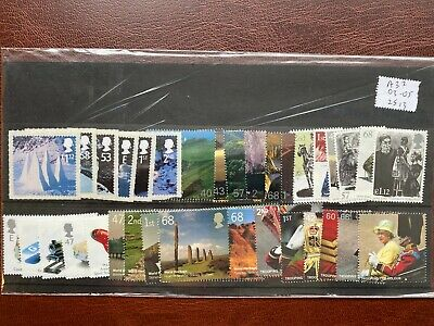 £25+ DISCOUNTED Mint (MNH) (with gum) GB Stamps for CHEAP UK Postage [#A37]