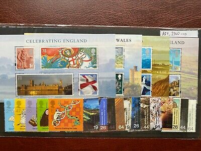 £27 DISCOUNTED Mint (MNH) (with gum) GB Stamps for CHEAP UK Postage[#A39]