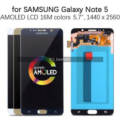 For Samsung Galaxy Note 5 N920 N9200 LCD Display Screen Touch Digitizer Assembly