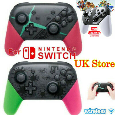 Wireless Bluetooth Pro Controller Gamepad Charging Cable for Nintendo Switch .