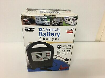 Maypole MP7112 Automatic Battery Charger 12v & 24v 12 Amp 59890/15
