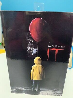 """NECA IT Bloody Version Pennywise Clown Action Figure Movie Doll New 7"""" Scale Toy"""