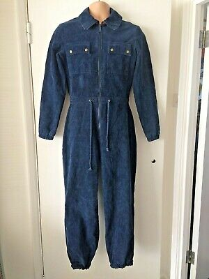 Vintage 1970'S 80'S Reversible 'Vango' Corduroy All In One Winter Jump Suit M