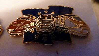 Pin's  Trains  Sncf  / Tgv Europe/  Emaille  /  Superbe