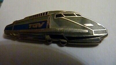 Pin's  Trains  Sncf  / Tgv /  Emaille  /  Superbe
