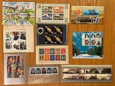 FV: £30+ DISCOUNTED Mint (MNH) GB Stamps  MINISHEETS Valid for UK Postage [#A56]