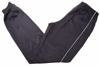 ADIDAS Boys Tracksuit Trousers 15-16 Years Black Polyester  EC09