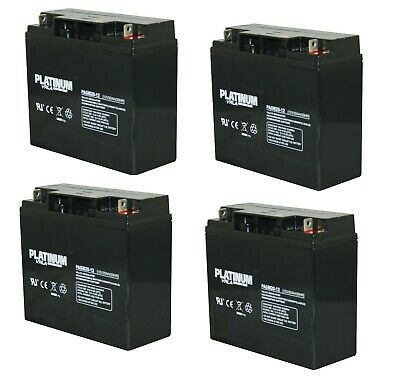 4 X Lucas 12V 20AH (Replace 17AH 18AH 21AH 22AH) Rechargeable AGM/GEL Battery