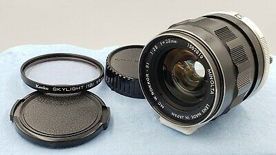 【EXC +4】 Minolta MC Rokkor SI 28mm f/2.5 Wide Angle Lens from JAPAN #466