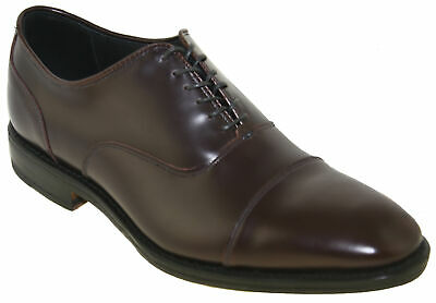 Allen Edmonds Men's Bond Street Cap Toe Oxford Burgandy Style 3415 810814