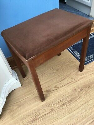 Piano  / Dressing Table Stool == Lift Up Seat With Storage Space