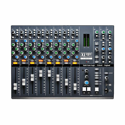 Solid State Logic X Desk - 8-Channel Dual Input Super Analogue Mixer