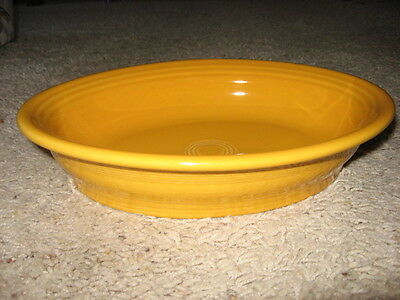 Retired Fiesta MARIGOLD Small Oval Bowl - 1st Quality
