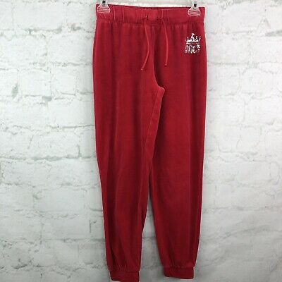 Juicy Couture Velour Pants Girls Large L Hot pink sequin lounge  Kids