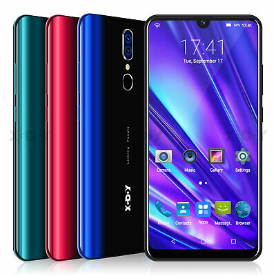 Android 9.0 Unlocked 5MP Dual Sim Smartphone 6.3'' Quad Core 3G Cell Phone XGODY