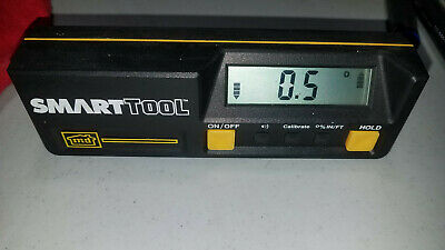 M-D Smart Tool Deluxe Digital Angle Finder Angle Level