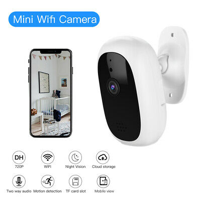 720P Smart Home Security Camera Indoor Two Way Talk CCTV for Pet Elder Monitor