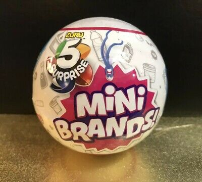 Zuru 5 Surprise MINI BRANDS WAVE 2 White Blind Mystery 1 Ball NEW