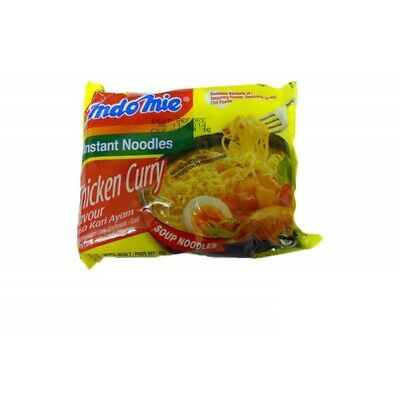 IndoMie Instant Soup Noodle Chicken Curry Flavour 80G x 5 packs