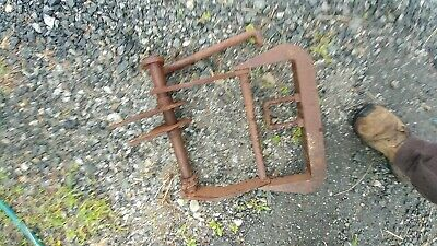 John Deere M Tractor JD implement & plow mounting bracket depth control