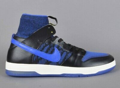 NIKE SB ZOOM Dunk Low Pro Qs * BlackRoyal Blue * 918288 041