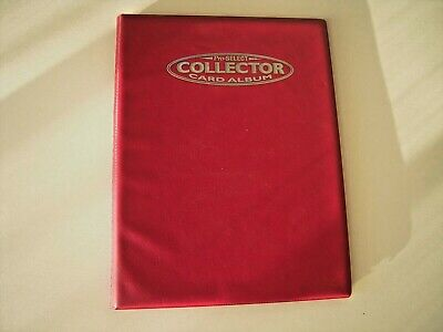 Pro  Select  9 Pocket Collector Card  Album   10 Pages Pour  9 Cartes