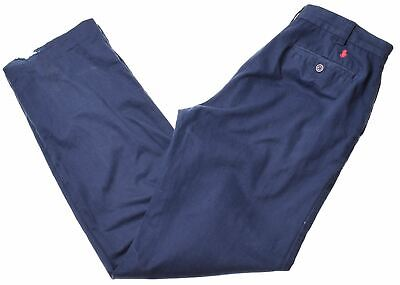 POLO RALPH LAUREN Boys Trousers 15-16 Years W30 L32 Blue Cotton  FB01