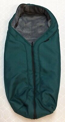 Mothercare Orb All Terrain Cosy Toes Footmuff - Teal - VGC